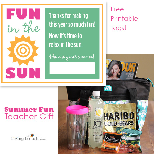 9 Images of Summer Teacher Gift Tags Free Printable