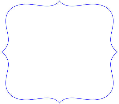This is a photo of Scalloped Edge Template Printable for scalloped circle