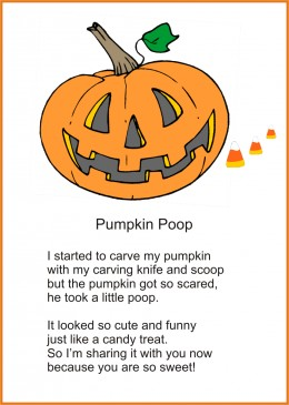 6 Images of Bat Poop Poem Printable