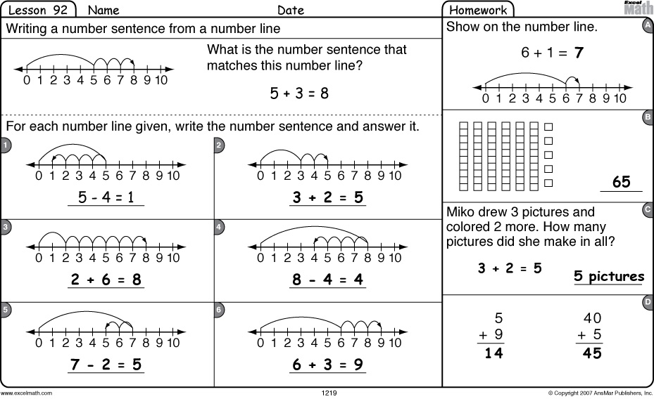 Number Line Worksheets Grade 2 Scalien – Subtracting on a Number Line Worksheets
