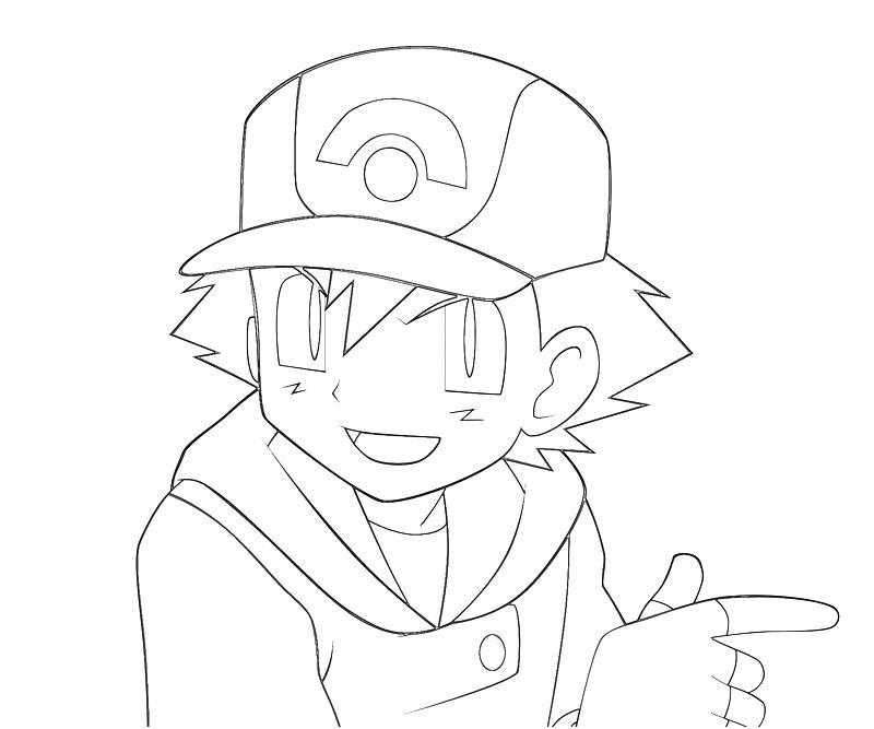 5 Images of Printable Pokemon Ash