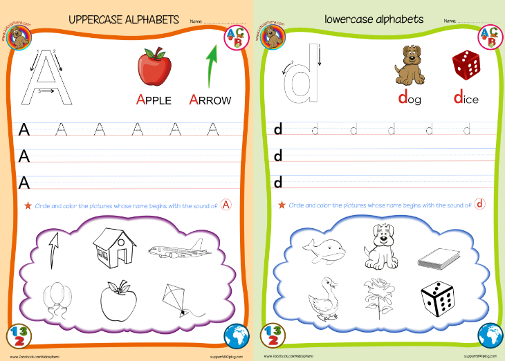 Printables. Free Abc Worksheets For Pre-k. Gozoneguide Thousands ...