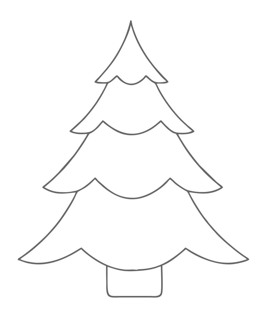 Christmas Tree Ornament Template  Vosvetenet