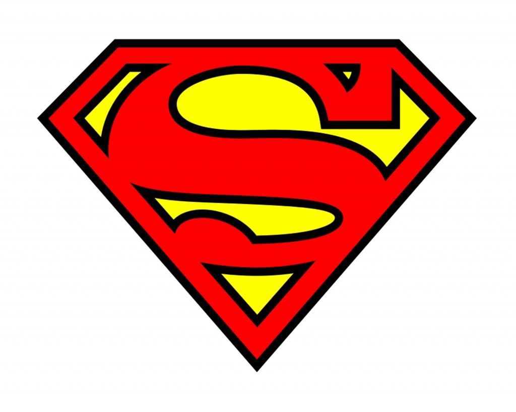 4 Images of Printable Superhero Logos