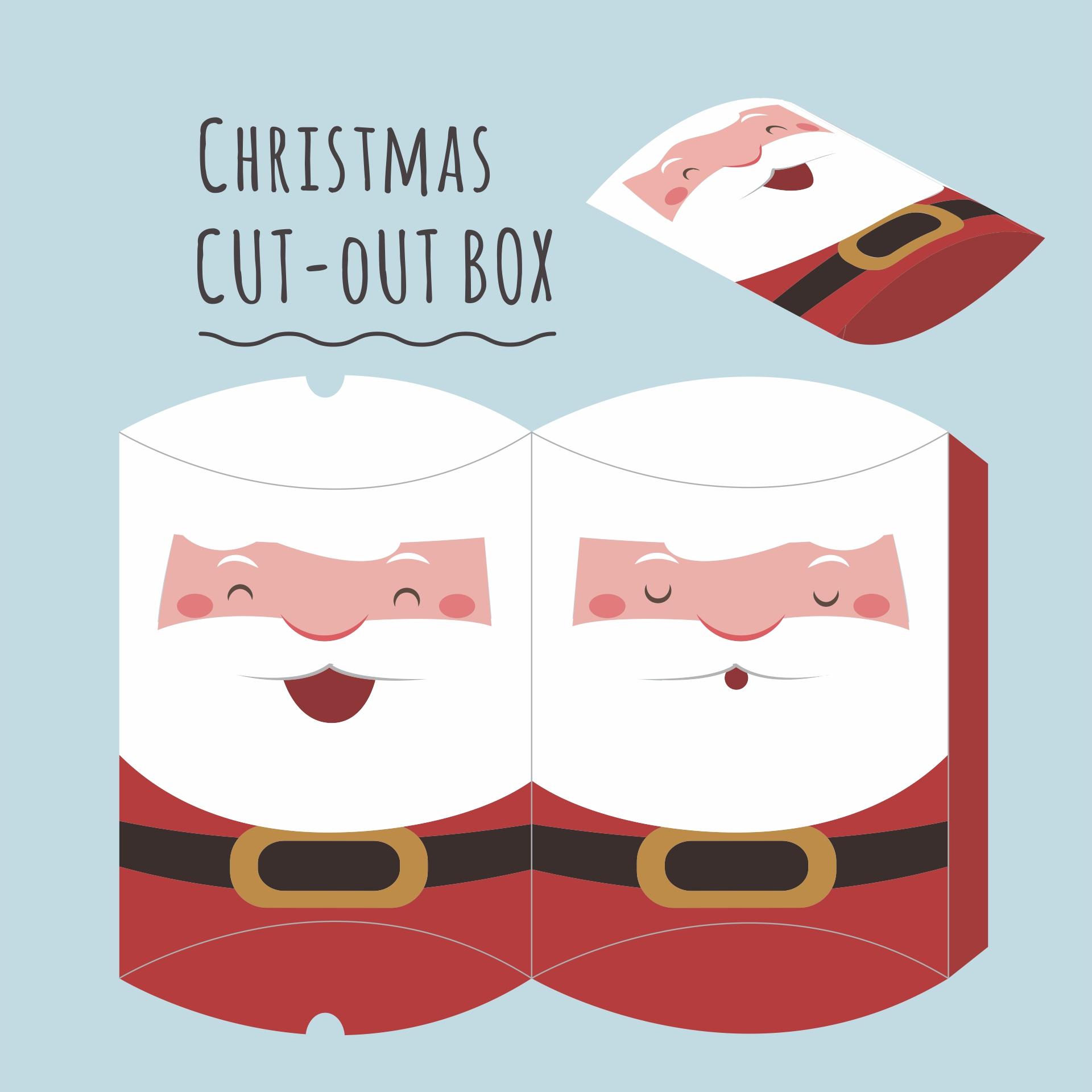 Santa Claus Craft Template