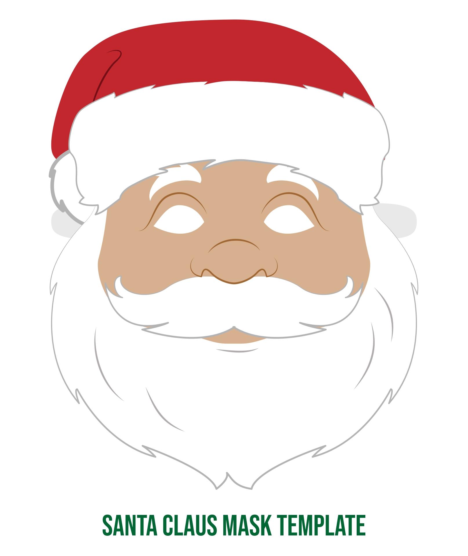 Santa Claus Face Craft