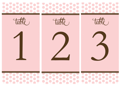 Number Names Worksheets number 1 template printable : Wedding Table Numbers Templates - Wedding Invitation Sample