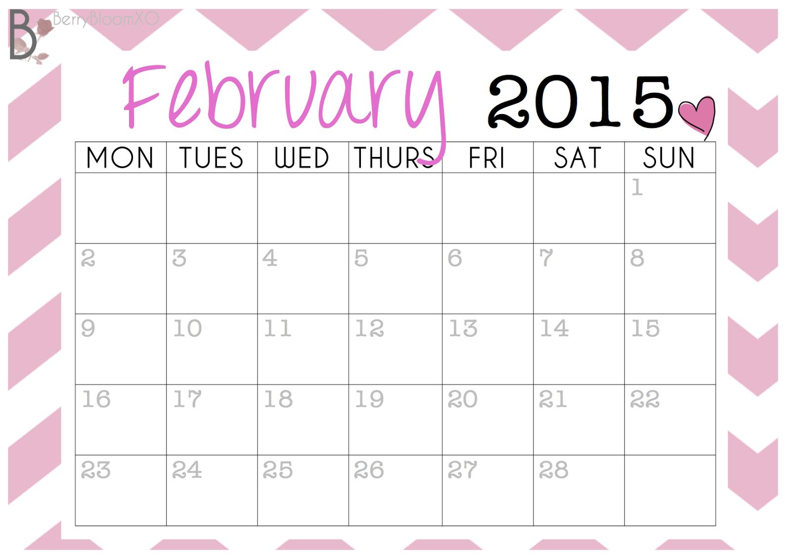 6 best images of cute chevron april 2015 calendar