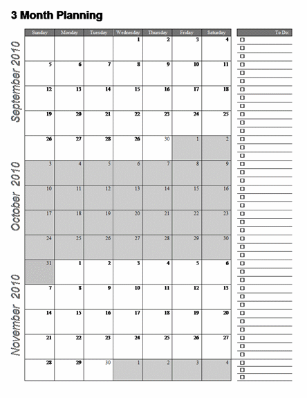 three month calendar template word 7 best images of 3 month printable calendar online free