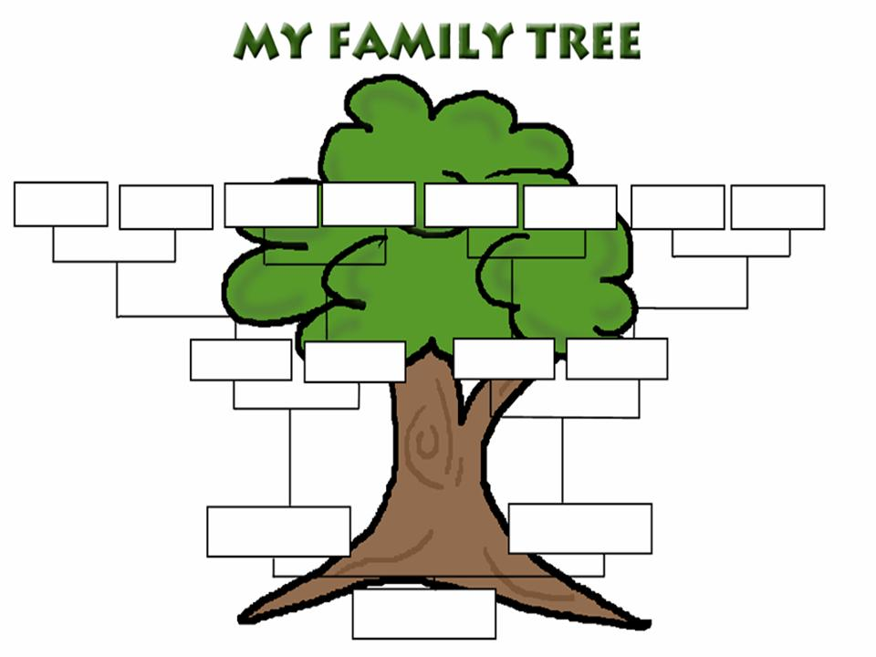 8 Images of Family Tree Printable Fill In