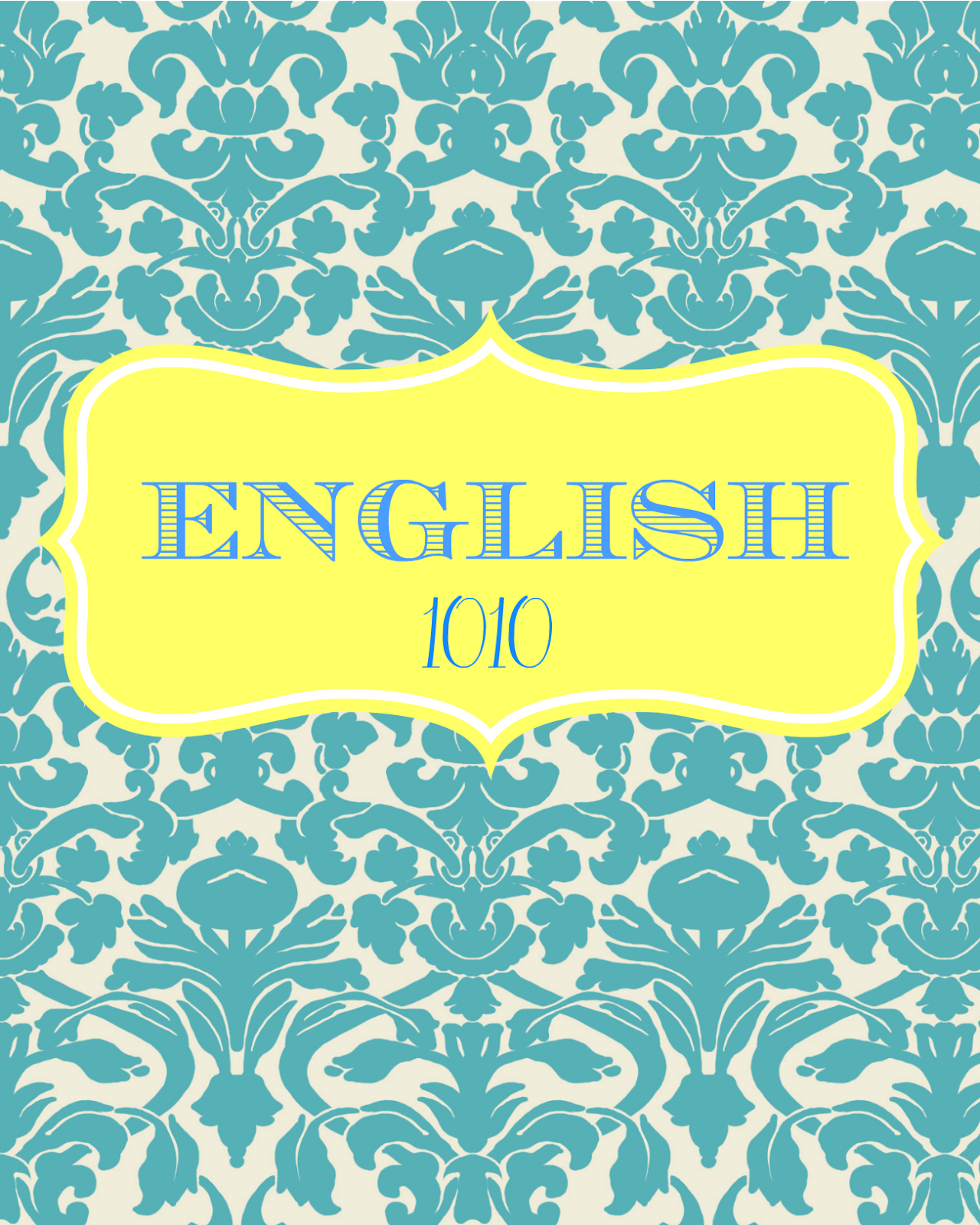 9 Images of Printable Binder Covers English