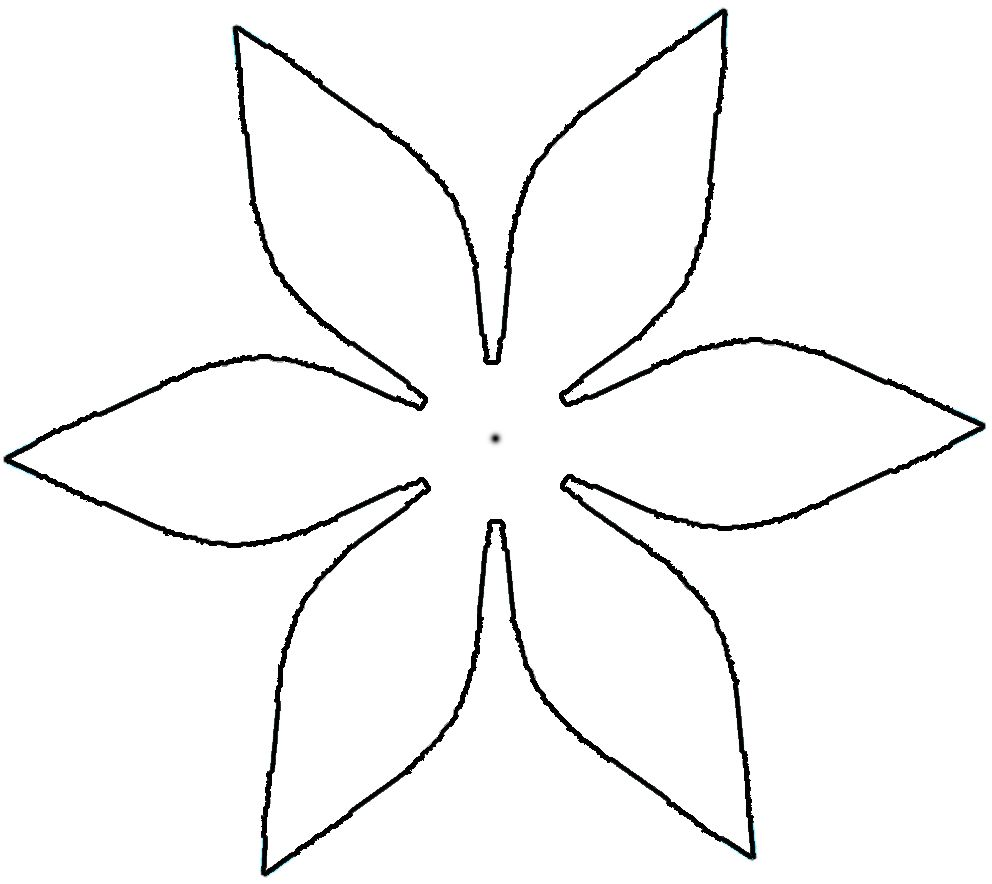 8 best images of daisy flower petal templates printable for Paper cut out templates flowers