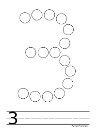 4 Images of Do A Dot Number Printables