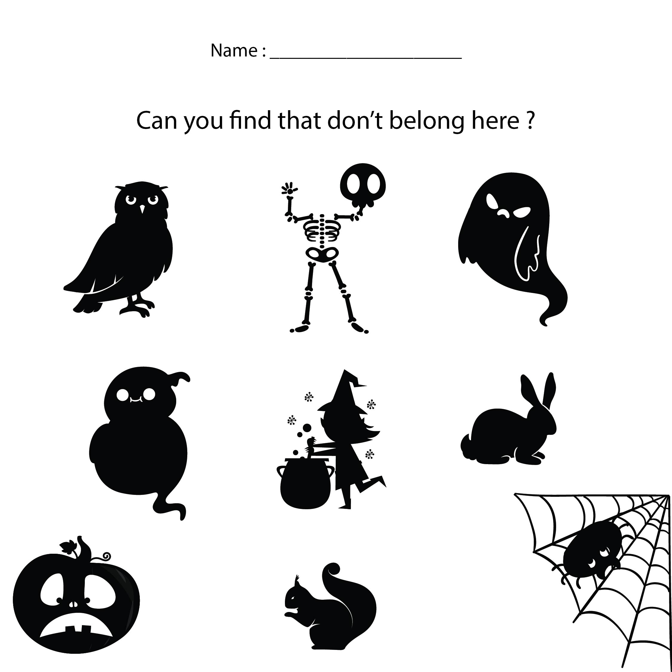 math worksheet : halloween themed math worksheets kindergarten  halloween  : October Math Worksheets