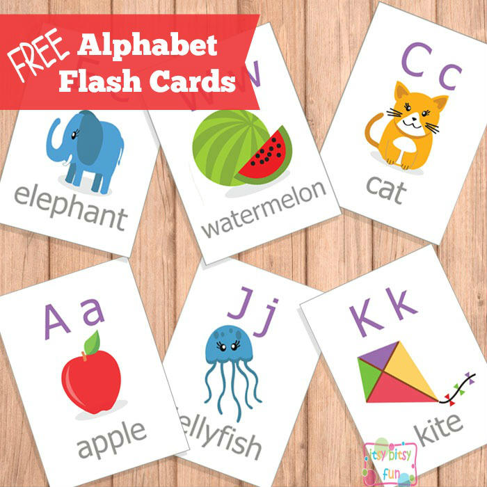 5 Images of Free Printable ABC Flash Cards For Kids