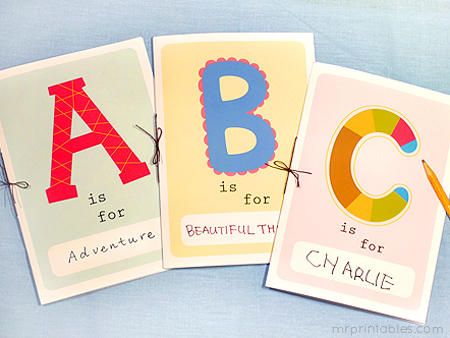8 Images of Make A Book Printables