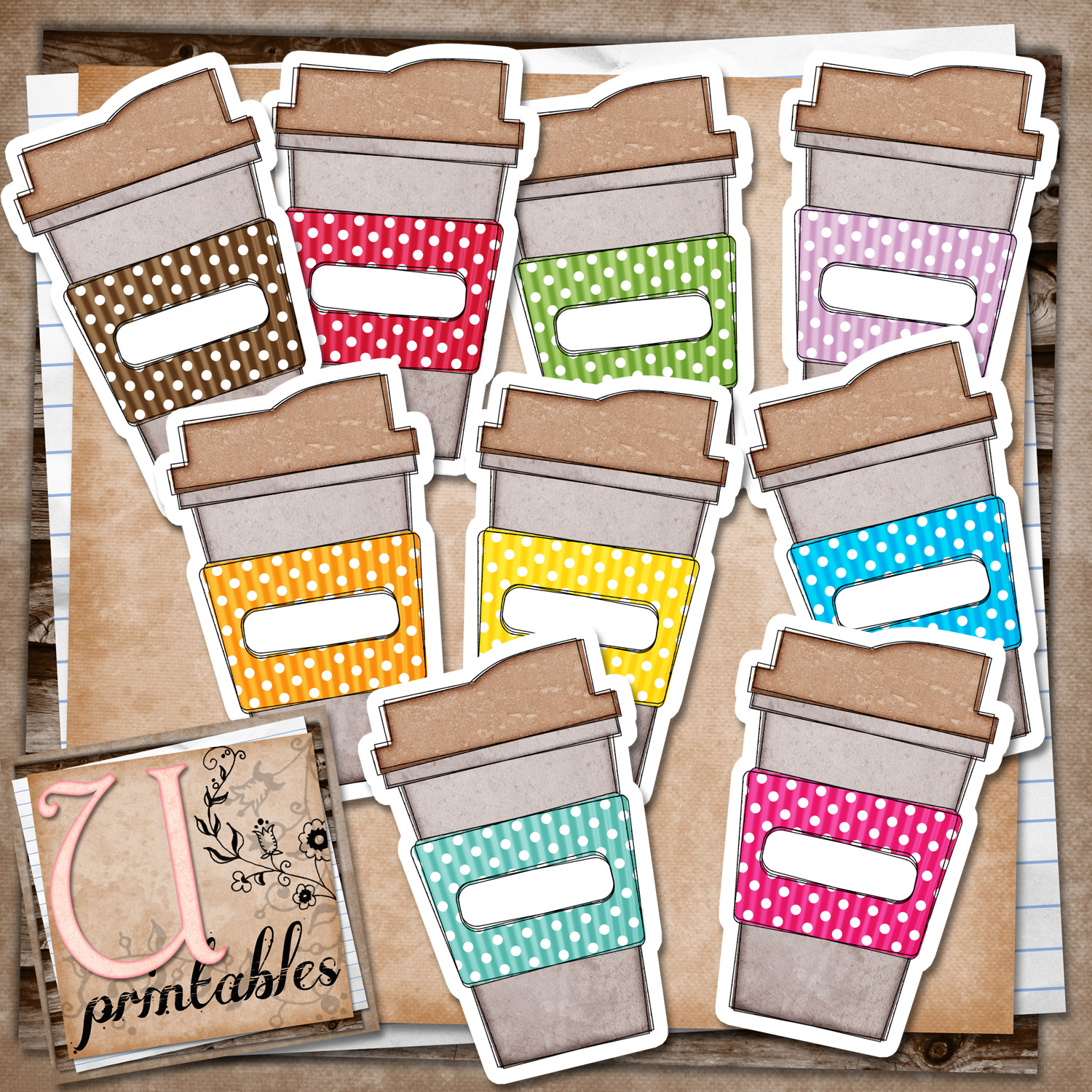 5 Images of Pocket Smash Book Printables