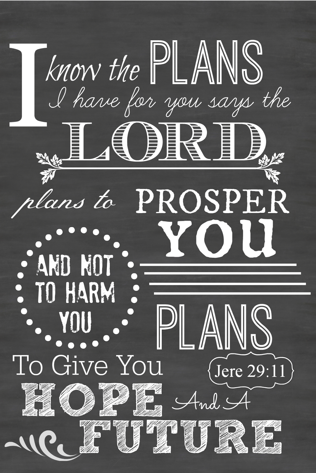 5 Images of Free Scripture Chalkboard Printables