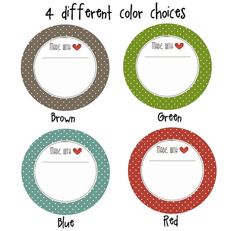 6 Images of Printable Christmas Canning Jar Lid Labels