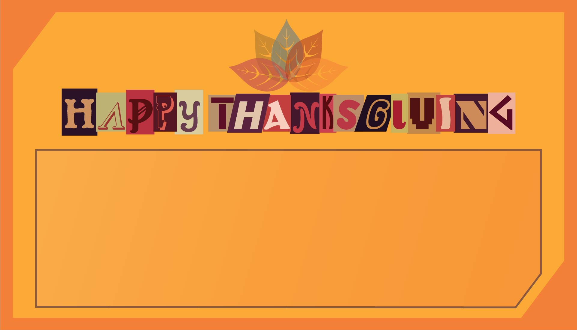 Printable Happy Thanksgiving Cards