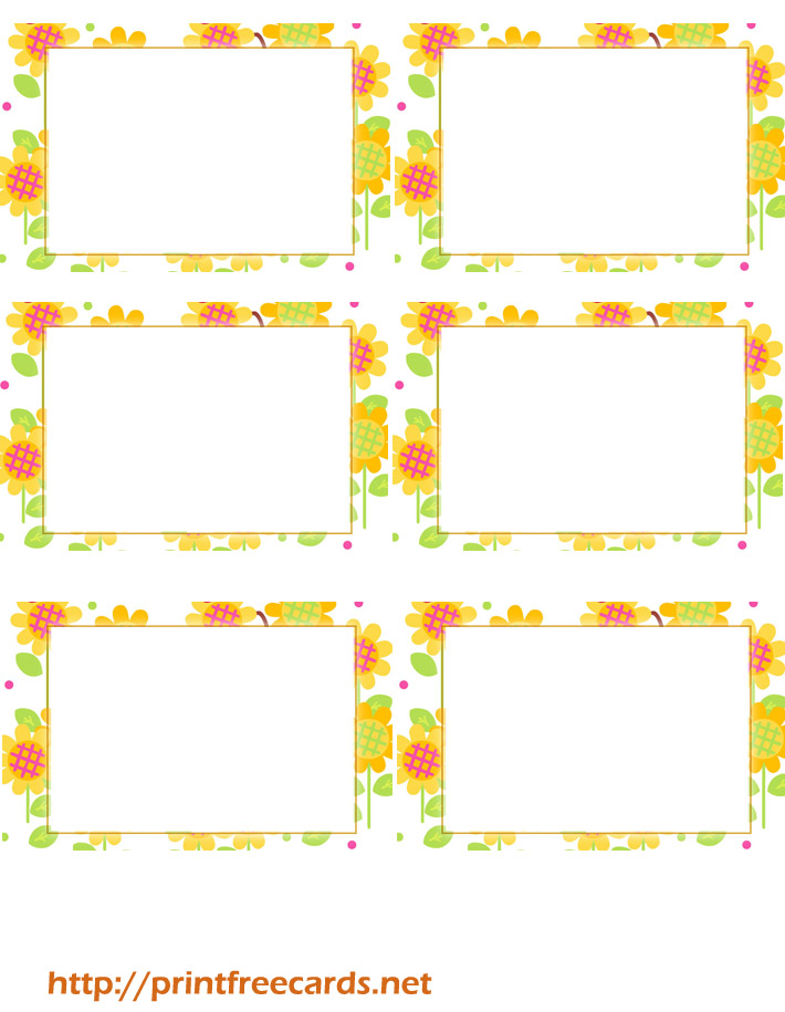 7 Images of Free Printable Summer Templates