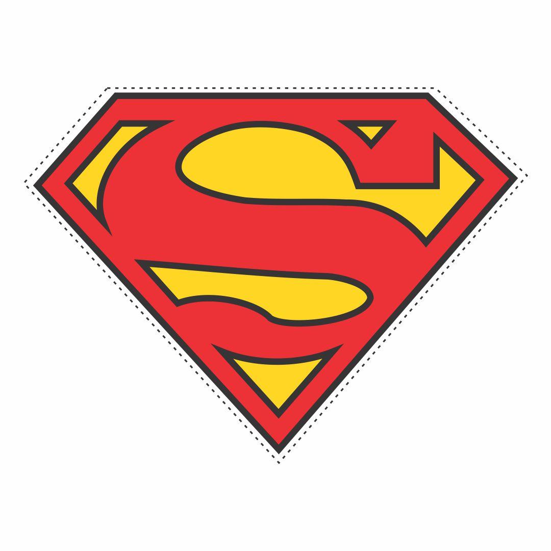 Printable Superman Logo Template