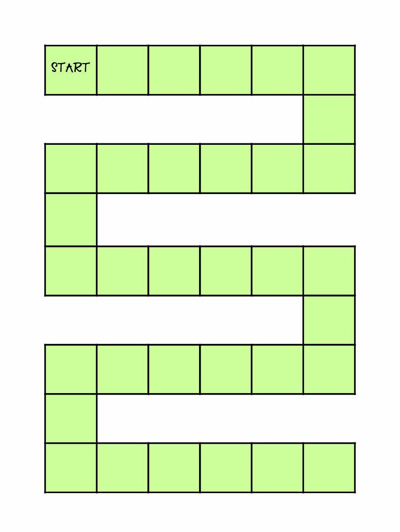 Math Multiplication Board Game Printables
