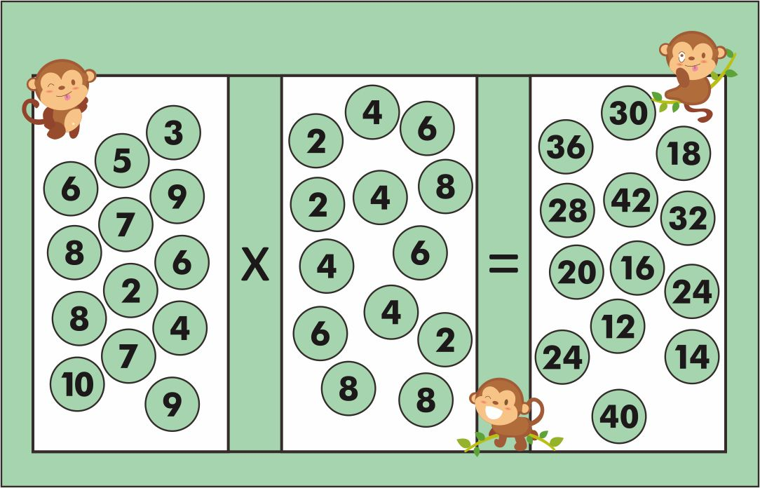 Number Names Worksheets : free multiplication games worksheets ...