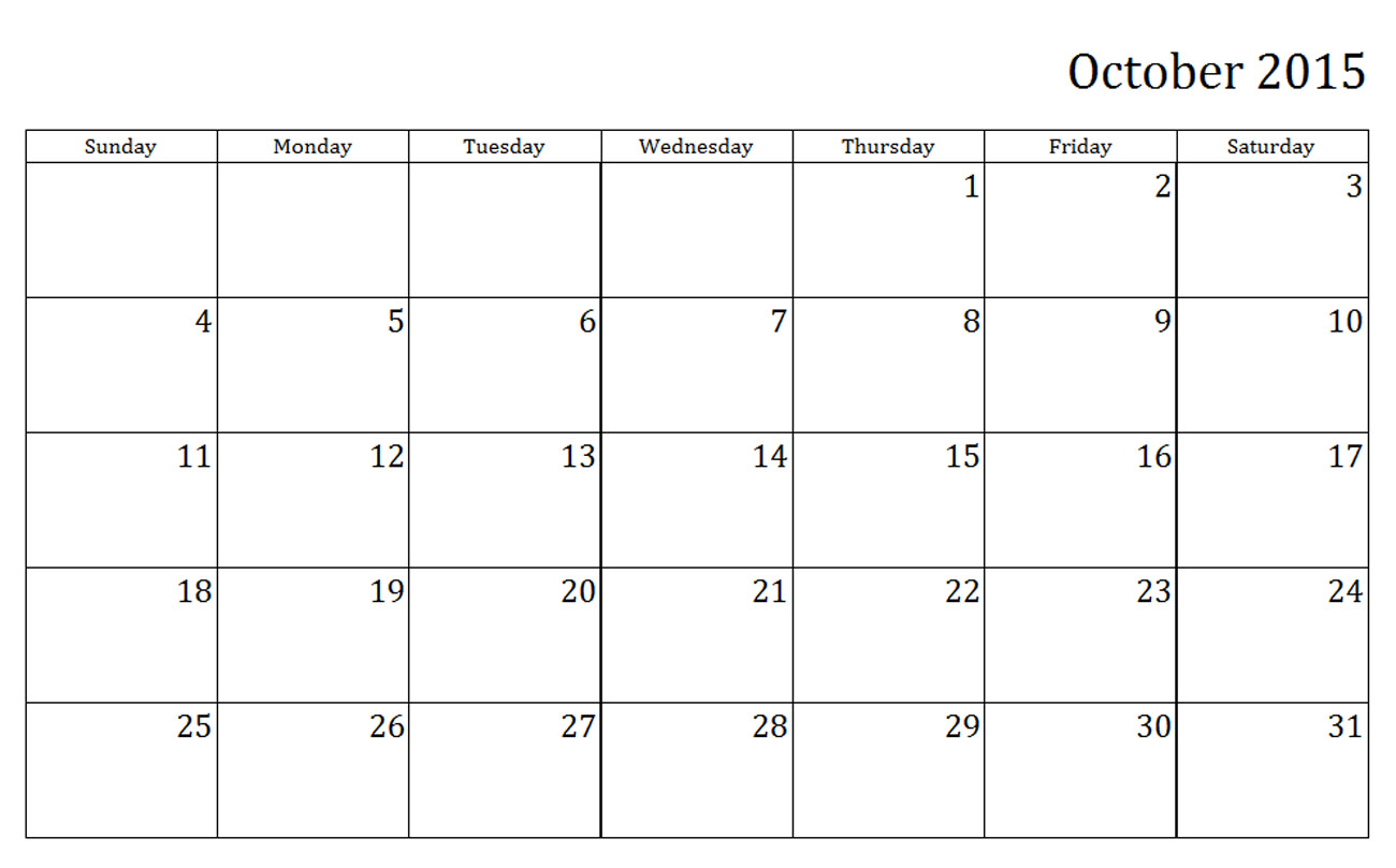 6 Images of Teacher Calendar 2014 2015 Printable October