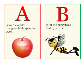 4 Images of Free Printable Alphabet Books