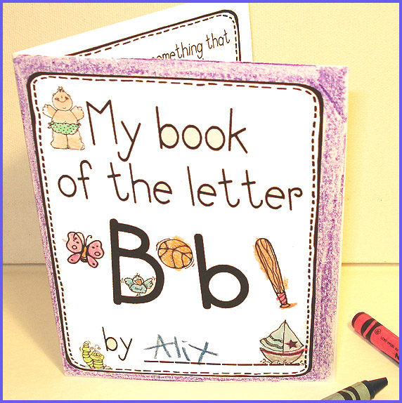 7 Images of Letter D Mini Book Printable