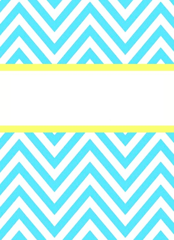 It's just a graphic of Printable Binder Cover Templates intended for chevron