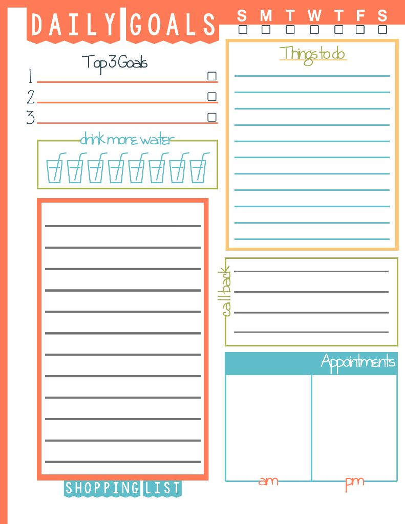 7 Images of January To Do List Printable