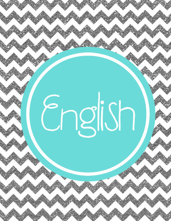 9 best images of printable binder covers english