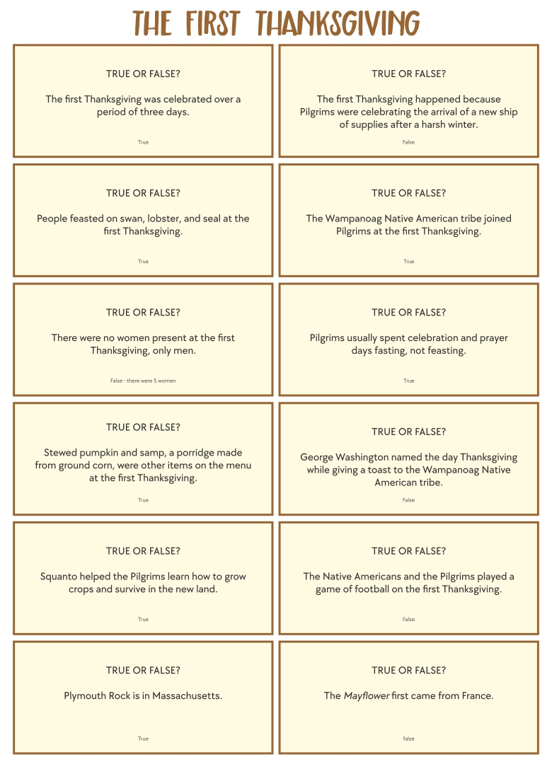 8 Images of NFL Thanksgiving Day Trivia Printable Games