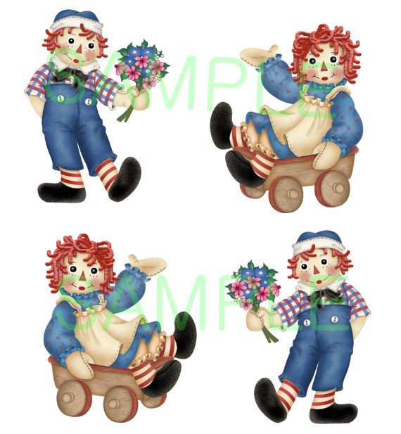8 Images of Raggedy Ann Printable