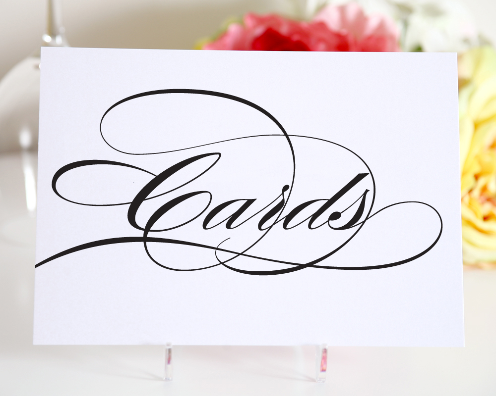 Printable Wedding Gift Card Free : ... Wedding, Sign Wedding Gift Card Template Free & Free Printable Wedding