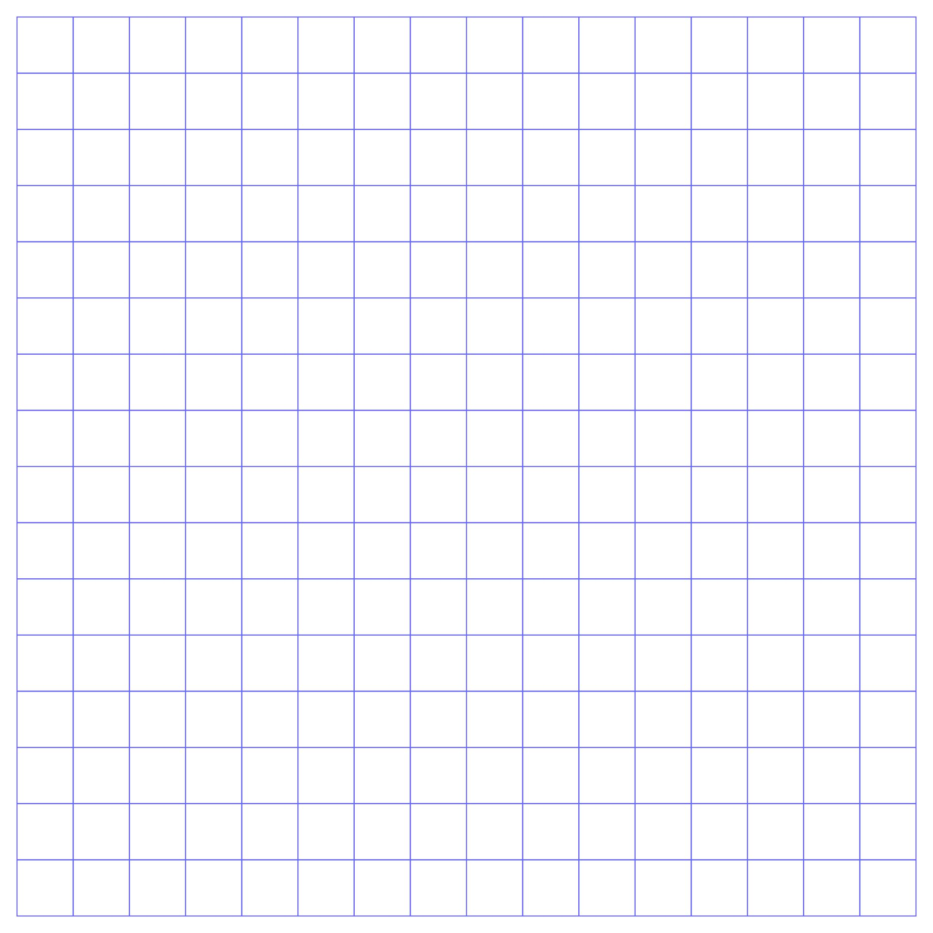 7 best images of printable grids squares