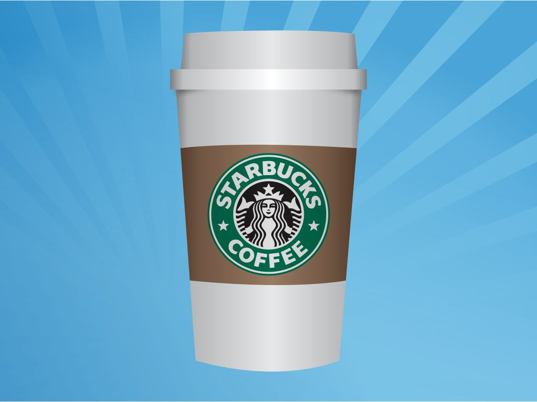 Starbucks Coffee Cup Template