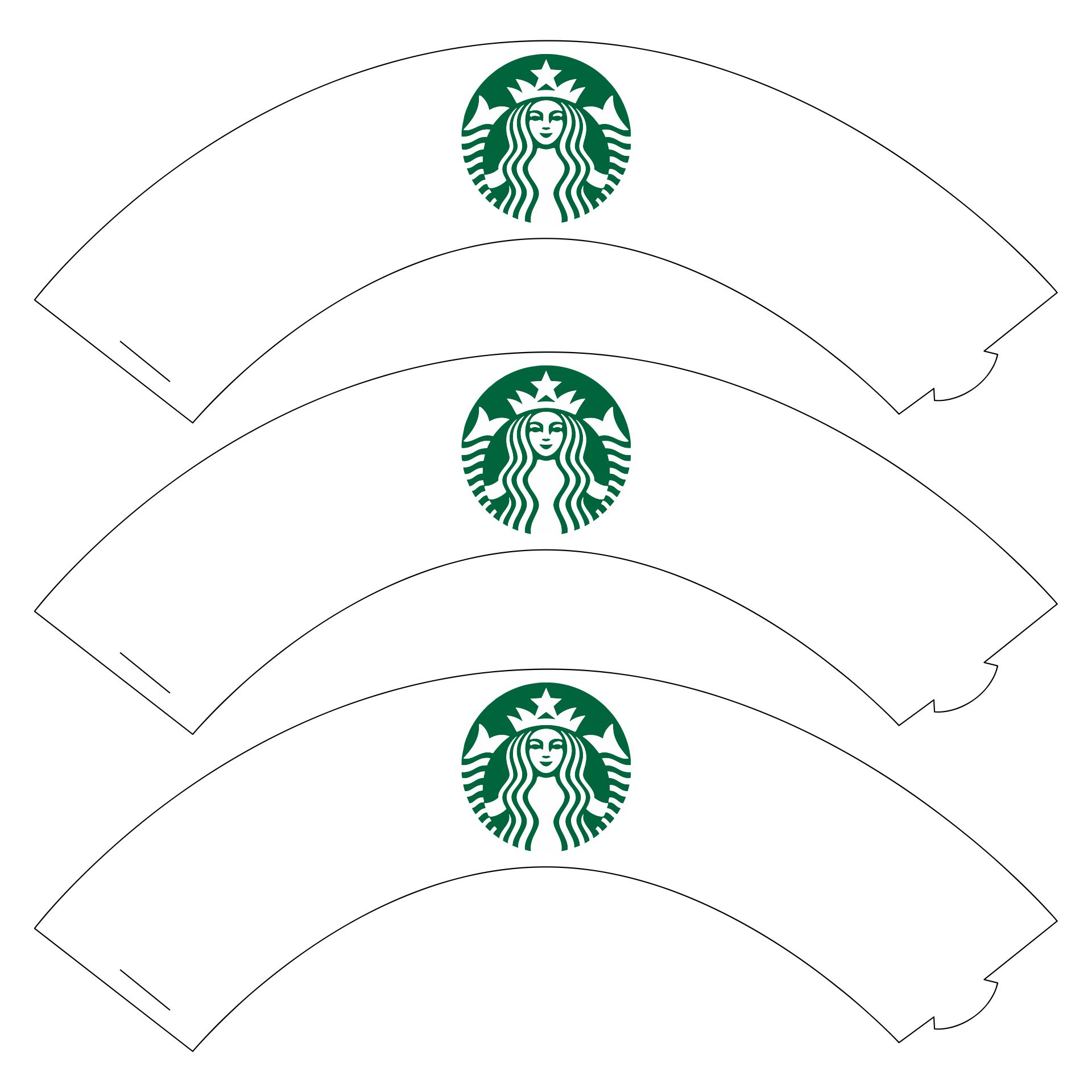 Starbucks Cupcake Wrappers Printable