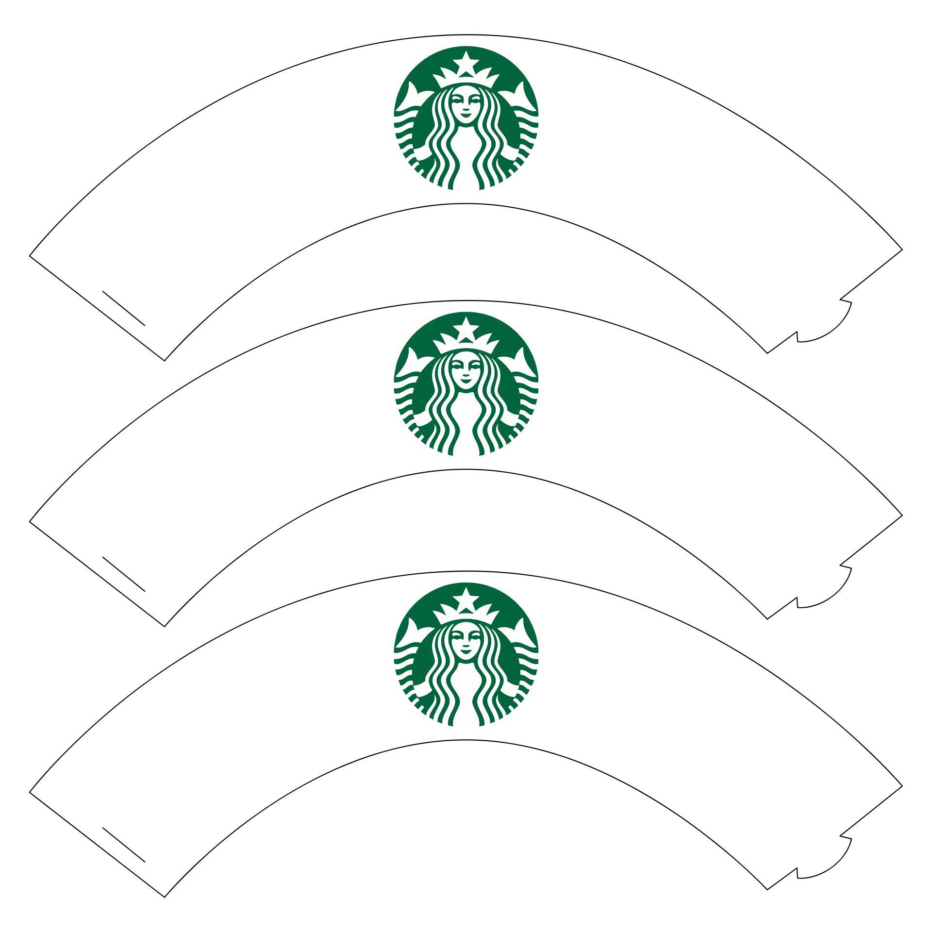 Starbucks Cupcake Wrappers Printable