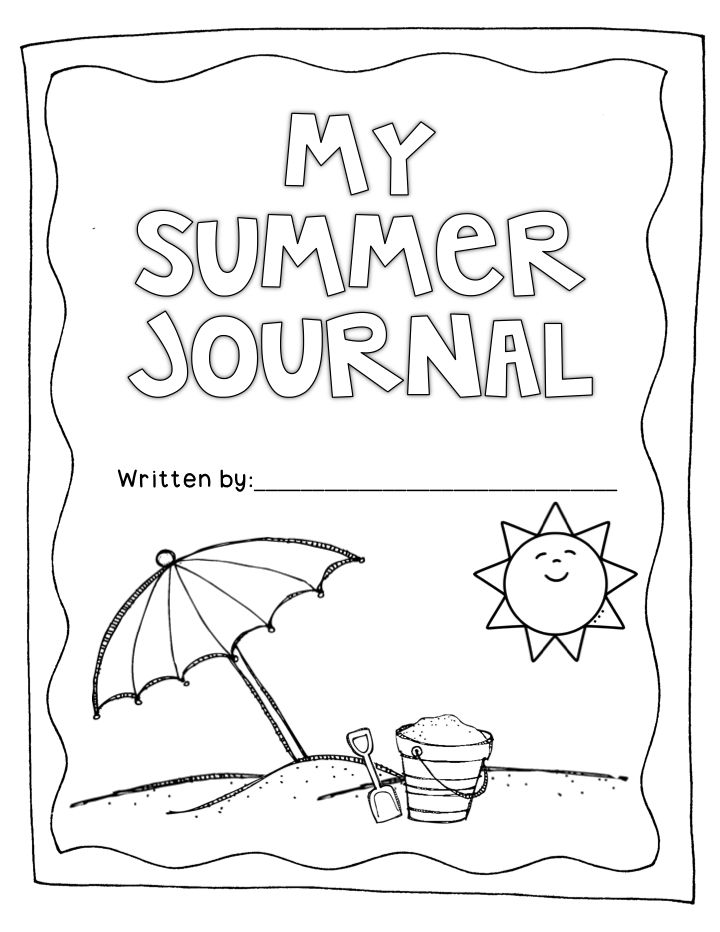 Printable Handwriting Book Cover : Best images of printable kindergarten journal covers