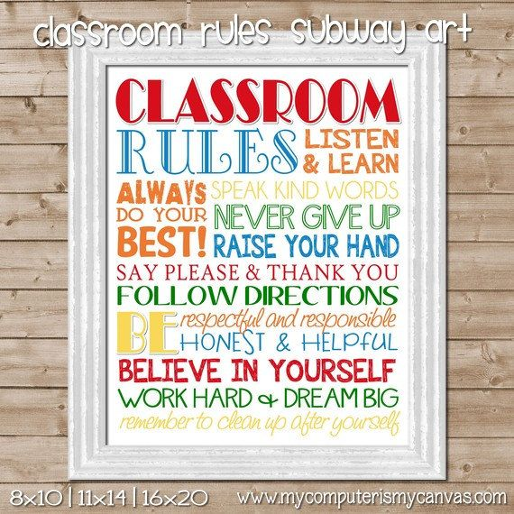 7 Images of Printable Classroom Library Rules