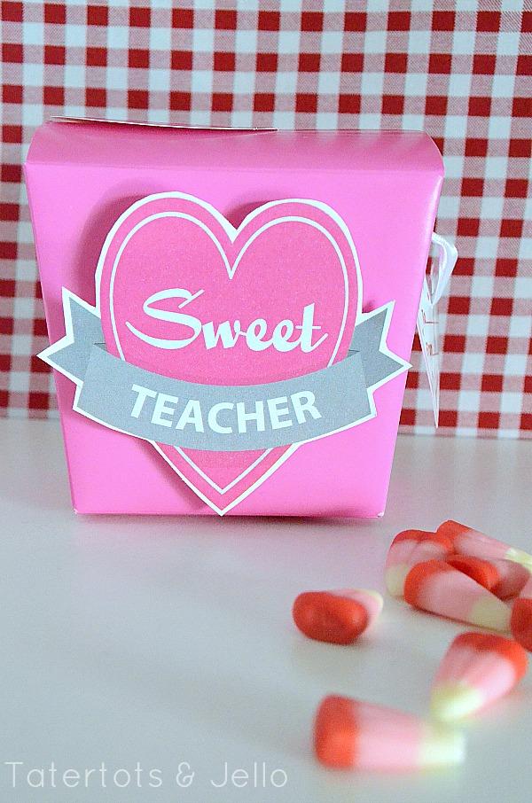8 Images of Teacher Valentine Printables