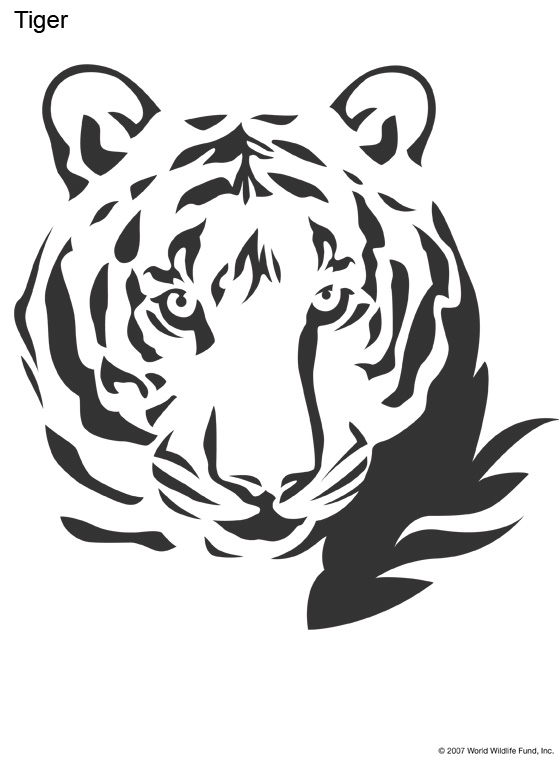 Best images of easy animal stencils printable jungle