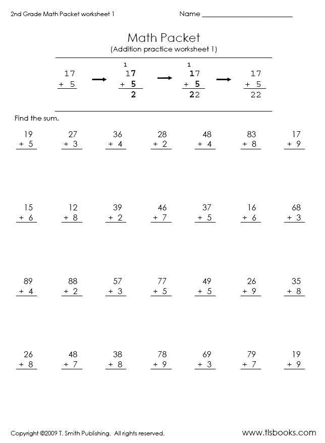 Print Math Worksheets 2Nd Grade Free Worksheets Library – Free Printable Math Worksheets with Answer Key