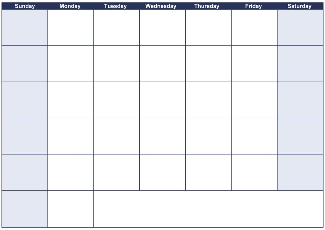Day Weekly Calendar : Best images of day calendar printable shred
