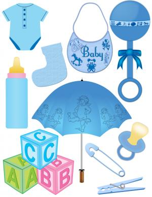 6 Images of Free Printable Clip Art Baby Boy
