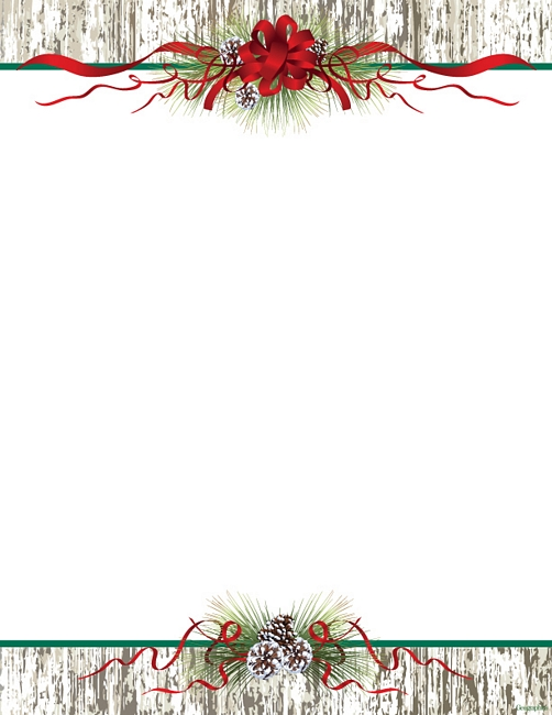 Christmas Letter Head Downloads