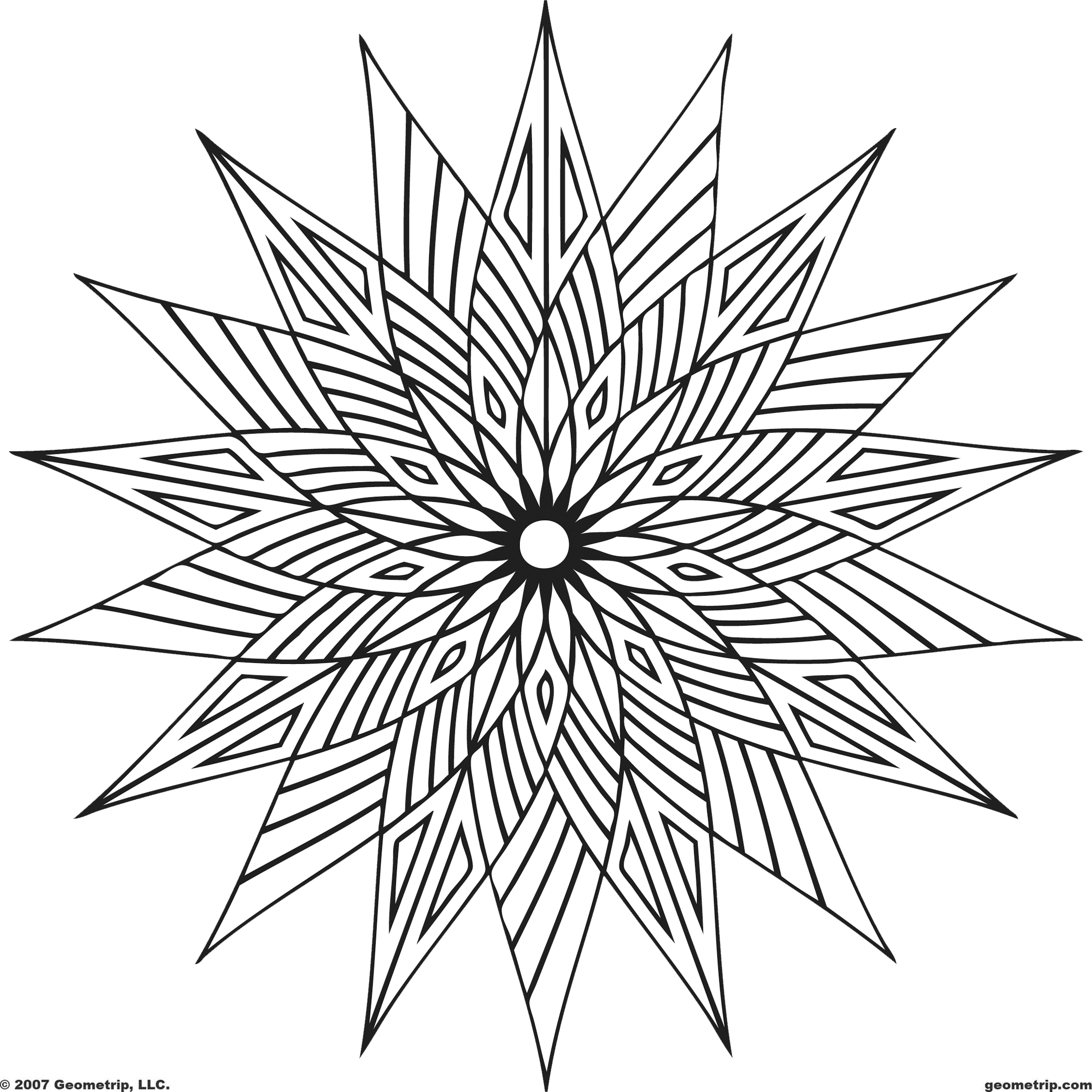8 Images of Free Printable Cool Coloring Pages For Adults